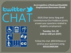 EEOC Twitter Chat Image